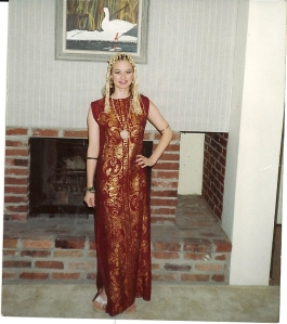 Halloween 1992, age 19